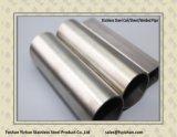 316 Vierkante Buis van het Roestvrij staal van de rang Hairline Gelaste