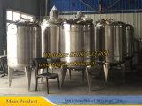 Acero inoxidable 200L 500L de reactores químicos
