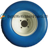 스포크 색깔 (18*8.50-8)를 가진 단단한 PU 바퀴