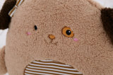 Venta al por mayor 3 en 1 manta animal del bebé de la manta de la franela de la historieta linda con el juguete Ca-01871 de la felpa