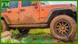 As etapas do lado de Alimentação Automática para Jeep Wrangler Unlimited Porta 4