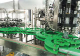 Automatische Glasflaschen-Rum-Plombe und Verpackungsmaschine