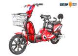 Erwachsenes elektrisches Motorrad mit hinterem Gegenständer-Pedal-1:1 PAS Moped