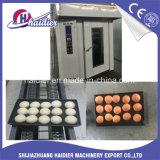 304 Rack rotativa em aço inoxidável forno de pão forno a gás integrada