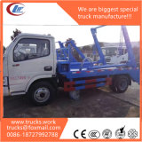 Dongfeng 4X2 LHD Skip Loader Garbage Truck