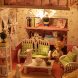 2017 смешных деревянных игрушек дома куклы