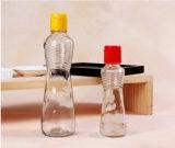 Frasco de vidro do petróleo sem chumbo transparente do sésamo 340ml