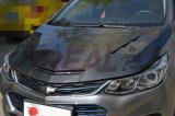 Bonnet en caoutchouc à fibre de carbone pour Chevy Chvrolet Cruze 2017