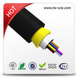 Aramid (ADSS)の24core Dielectric Optical Fiber Cable
