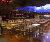 Mcdonald-Art-Schnellimbiss-Gaststätte-Tisch und Stuhl