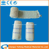 Atadura elástica 5cmx4.5m do Crepe da cor da pele de China