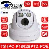 Full HD 1080P 4X Caméra mini dôme IP Poe P2p