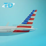"B767-300ER 1: 200 27см Scael модели ""USA "" Boeing самолеты Airbus"