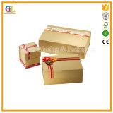 Contenitore di regalo di carta personalizzato per l'imballaggio di natale