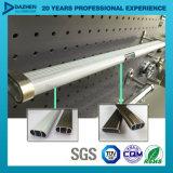 Profilo di alluminio dell'espulsione per il tubo d'attaccatura rotondo ovale del guardaroba
