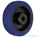 (En caoutchouc élastique bleu/noir/gris) / jante de roue en nylon noir