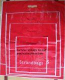 Saco de portador poli cortado poli cortado do saco de vestuário do saco de compra do saco do punho do saco do boutique do saco do saco do punho da correção de programa do saco do botão de porta