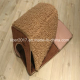 접힌 애완 동물은 개 고양이 방석 개집 침대 소파 집을 공급한다