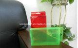 Коробка упаковки PVC пластичная складывая
