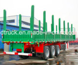 SHACMAN Log trailer, Logging tractor avec Logging trailer