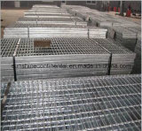 Sserrated galvanizado sumergido caliente o reja llana del acero de la plataforma