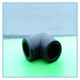 Cotovelo Pn16 do PE da dureza 20~630mm para a tubulação de água do HDPE