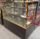 Étalage d'étalage de /Cake d'étalage de gâteau d'acier inoxydable/réfrigérateur commercial de gâteau d'étalage