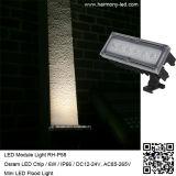 Im Freien Rasen-Lampe hohe Leistung RGB-6W LED