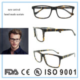 Fabrik-Großhandelsbrille gestaltet Azetat-Augen-Glas-Rahmen
