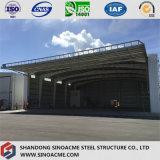 Sinoacme는 강철 구조물 비행기 격납고 건축을 조립식으로 만들었다