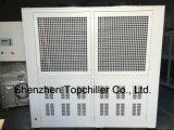 Refroidisseur d'eau refroidi par air 55kw (15TR) avec échangeur de chaleur Shell et Tube
