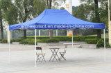 Matériau extérieur tente de pliage en polyester pour la publicité pop up Gazebo