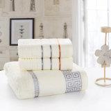 Katoenen van 100% Katoenen Bad/Handdoek de Van uitstekende kwaliteit van het Strand/van het Gezicht