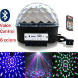 RGB LED de Bluetooth Magic Ball discoteca escenario luz láser parte