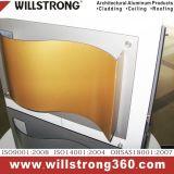 Gewölbtes zusammengesetzte Aluminiumpael für Innen- und im Freien