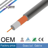 Câble coaxial de moniteur de télévision par câble de l'en cuivre Rg59 de prix usine de Sipu