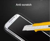 Protecteur en verre anti-déflagrant d'écran de bord arrondi parEmpreinte digitale libre de bulle de qualité pour Samsung S4