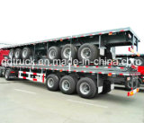 3 Wellen-Plattform-Flachbettbehälter-Transport-LKW-Schlussteile