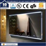 Miroir léger fixé au mur de salle de bains lumineux par DEL pour l'hôtel