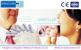 O Sell Singderm marca o enchimento cutâneo para dobras Nasolabial
