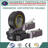 モーターおよびコントローラを持つISO9001/CE/SGSの実質のゼロバックラッシュの太陽追跡者