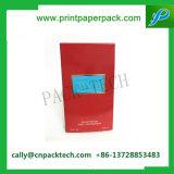 Plata caliente ULTRAVIOLETA mate del punto negro que estampa el rectángulo de papel para el embalaje cosmético