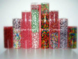 China Factory Supply Plain Pet Plastic Packaging Tube avec 2 caps (tube d'emballage)