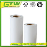 64'', de 90 gramos de sublimación de secado rápido de papel para impresión textil
