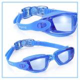 Óculos de proteção da natação da forma nenhuma proteção UV de escape da anti névoa