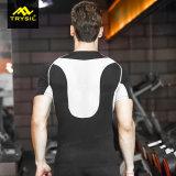 男子体操堅いThirtは呼吸の衣服を遊ばす