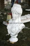 Busto europeo Ms-024 della scultura del busto del marmo del busto