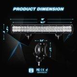 Barra combinada de la inundación LED del punto ligero del trabajo de la pulgada 126W LED de la barra ligera 20 del LED de la iluminación del barco de luces de la luz de niebla de las luces de conducción de las luces del camino LED