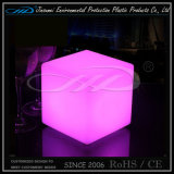 Night Club Color Changing LED Tabouret carré avec suppression du contrôle