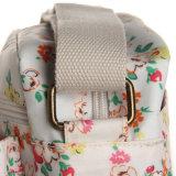 Impermeable PVC florales Bolsas de hombro Patrones lienzo para Lady